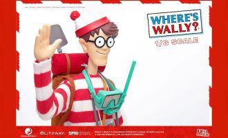 Blitzway 5PRO Where's Wally? Mega Hero Action Figure 1/6 Wally 34 cm Banner