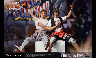 Blitzway Bill & Ted's Excellent Adventure Action Figure 2-Pack Bill & Ted Banner