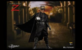 Blitzway BW-UMS 11101 The Mask of Zorro Action Figure Zorro Alejandro Murrieta Antonio Banderas