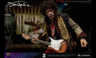 Blitzway BW-UMS 11201 Jimi Hendrix Sixth scale collectible figure
