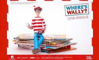 Blitzway Where's Wally? Mega Hero Action Figure 1/12 Wally Banner