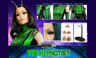 BULLET HEAD BH003 GUARDIANS OF THE GALAXY VOLUME 2 THE HYPNOTIST MANTIS