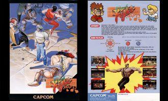 Capcom CPS1 Final Fight JAPAN Original Jamma Pcb Arcade game board Jamma banner