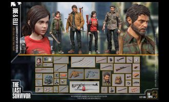 CCTOYS-CCT-005THE-LAST-SURVIVOR-JOE-&-ELLI-THE-LAST-OF-US-JOEL-ELLIE-COLLECTIBLE-FIGURE