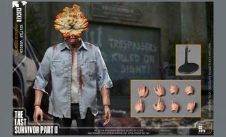 CCTOYS THE LAST OF US PART 2 CLICKER  ACTION FIGURE