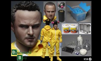 CGLTOYS MF07 BIOHAZARD BOY  BREAKING BAD JESSE PINKMAN
