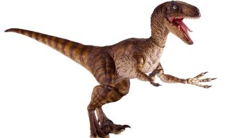 Chronicle Collectibles Jurassic Park Action Figure Velociraptor Action figures Jurassic Park Banner