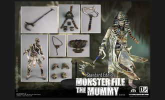 COOMODEL-MF008-MONSTER-FILE-THE-MUMMY-STANDARD-EDITION