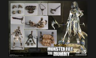 COOMODEL-MF009-MONSTER-FILE-THE-MUMMY-DELUXE-EDITION