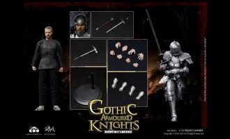 COOMODEL-PE011-PALM-EMPIRES-1/12-GOTHIC-ARMORED-KNIGHT