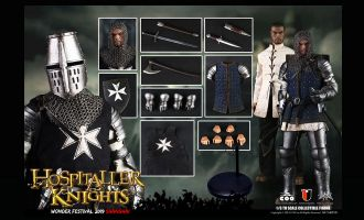 COOMODEL-SE050-WF-2019-THE-CRUSADERHOSPITALLER-KNIGHT-DIE-CAST-ALLOY