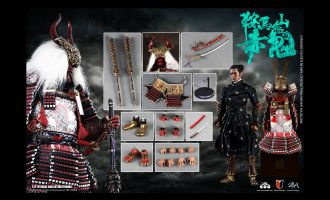 COOMODEL SE060 1/6 SERIES OF EMPIRES DIECAST ALLOY RED GHOST OF MOUNT KURAMA DEMON VERSION