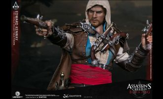 DAMTOYS DMS003 ASSASSIN'S CREED IV BLACK FLAG EDWARD KENWAY 1/6 FIGURE