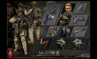 DAMTOYS 78077 1st SFOD-D Combat Applications Group TEAM LEADER