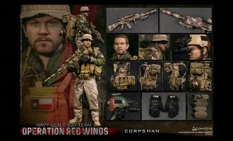 DAMTOYS 78084 1/6 Operation Red Wings -NAVY SEALS SDV TEAM 1 Corpsman BANNER