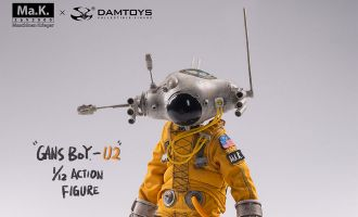 Damtoys CS018 x Kow Yokoyama GansBoy-U2 1/12  action figure Banner