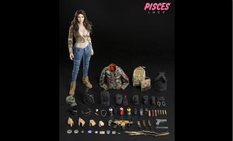 DAMTOYS DCG004 COMBAT GIRL SERIES PISCES LUCY