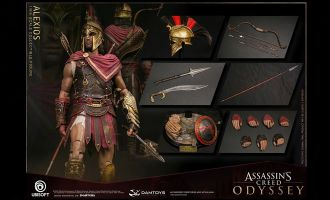 DAMTOYS DMS019 Alexios Assassin's Creed Odyssey 1/6 action figure Banner