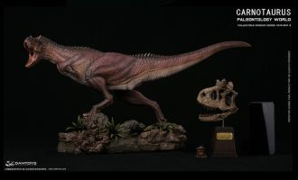DAMTOYS MUSEUM SERIES CARNOTAURUS SCENES COLLECTIBLE LEVEL STATUES MUS009BEX Exclusive Edition
