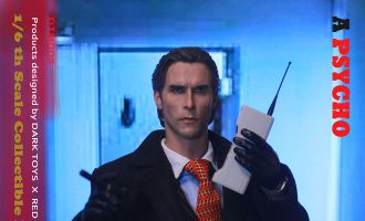 DARK TOYS DTM003 A PSYCHO Deluxe Edition American Psycho