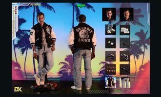Dark Toys DTM006 Beverly Hills Cop II Axel Foley Cop II Deluxe Version Eddie Murphy  1/6 figure Banner