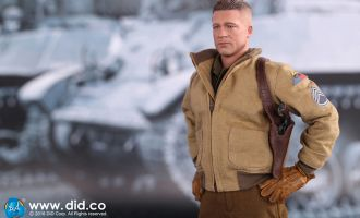 Did A80113 Fury Brad Pitt as SSGT Don Wardaddy Collier 2nd Armored Division Hell on Wheels