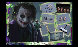 DJ-CUSTOM EX-001 Criminal Joker The Dark Knight Banner