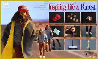 DJ-CUSTOM EX-002 Inspiring Life & Forrest TOM HANKS FORREST GUMP BANNER