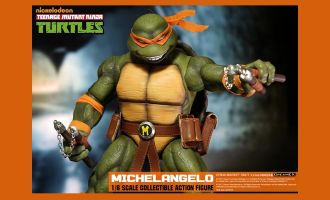 DREAM EX NICKELODEON TEENAGE MUTANT NINJA TURTLES 1/6 MICHELANGELO