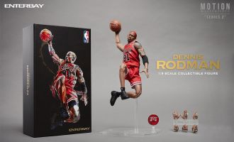 ENTERBAY-MM1209-MOTION-MASTERPIECE-SERIES-2-DENNIS-RODMAN-1/9-FIGURE