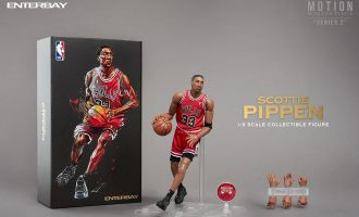 ENTERBAY MM-1208 MOTION MASTERPIECE SCOTTIE PIPPEN 1/9 FIGURE