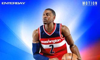 ENTERBAY MOTION MASTERPIECE NBA MM-1204 JOHN WALL 1/9 ACTION FIGURE