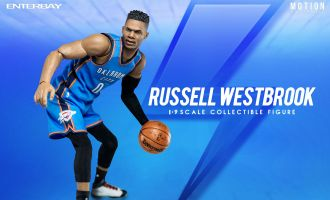 ENTERBAY MOTION MASTERPIECE 1/9 MM-1203 RUSSELL WESTBROOK NBA COLLECTION ACTION FIGURE
