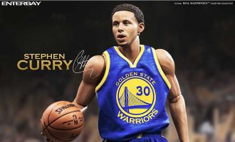 ENTERBAY NBA RM1066 STEPHEN CURRY