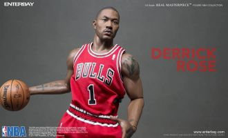 ENTERBAY RM1057 REAL MASTERPIECE NBA COLLECTION DERRICK ROSE