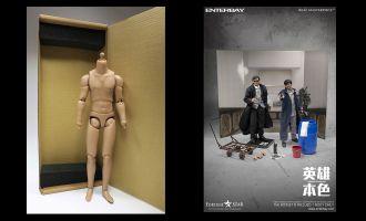 Enterbay A Better Tomorrow Original Action Body Figure Body Action Figure 1/6 Mark Lee 30 cm