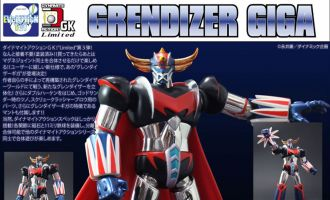 EVOLUTION TOY DYNAMITE ACTION GK03 LIMITED GRENDIZER GIGA