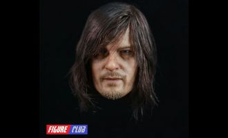 FIGURE CLUB FC001 THE WALKING DEAD DARYL DIXON HEADSCULPT