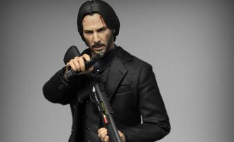 FIRE A028 JOHN WICK Fast Pursuit 2 Killing God Keanu Reeves
