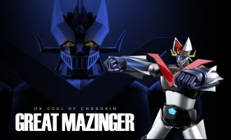 BANDAI SOUL OF CHOGOKIN DX-02 GREAT MAZINGER