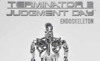 GREAT TWINS  Terminator 2 Judgment Day Terminator Skeleton