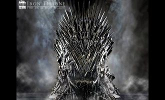 HERO-CLUB-GAME-OF-THRONES-IRON-THRONE-FOR-1/6-ACTION-FIGURE