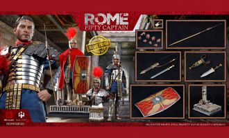 HHmodel & HaoyuToys HH18010 Empire Corps-Captain Captain Fifty Deluxe Edition Banner