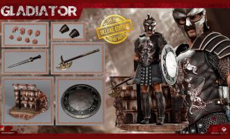 HHmodel & HaoYuTOYS HH18017 Gladiator Empire Legion-Empire Gladiator Russell Crowe Deluxe Edition Banner