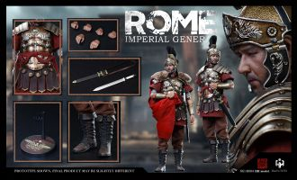 HHmodel x HaoYuTOYS HH18004 Imperial Army Imperial General Single version Generale Massimo Banner