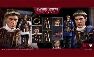 HHmodel x HaoYuTOYS HH18038 1/6 Commodo Joaquin Phoenix Gladiator Empire with Tyrant Double Set Edition Banner