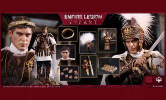 HHmodel x HaoYuTOYS HH18039 Commodo Imperial Legion-Tyrant Purple Gold Deluxe Edition Banner