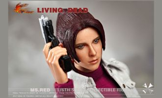 HOT-HEART-FD004-LIVING-DEAD-Resident-Evil-Claire-Redfield