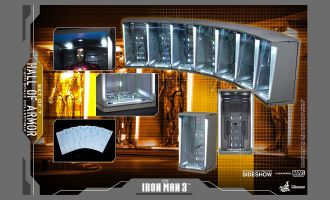 Hot-Toys-DS001C-Iron-Man-3-Hall-Of-Armor-Set-Of-7-Diorama