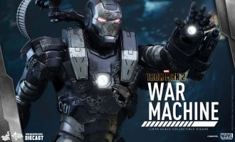 HOT TOYS MMS331D13 IRON MAN-2 WAR MACHINE DIE CAST